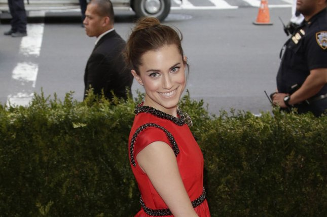 Allison Williams at the Costume Institute Benefit at the Metropolitan Museum of Art on May 4. The actress shared a new wedding photo Tuesday on Instagram. File photo by John Angelillo/UPI