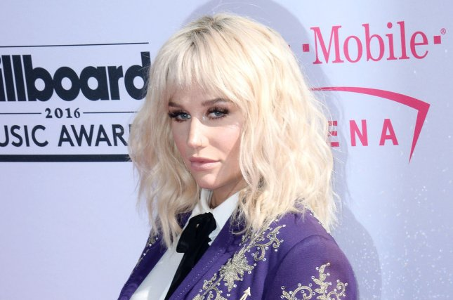 Kesha attends the annual Billboard Music Awards on May 22, 2016. Photo by Jim Ruymen/UPI