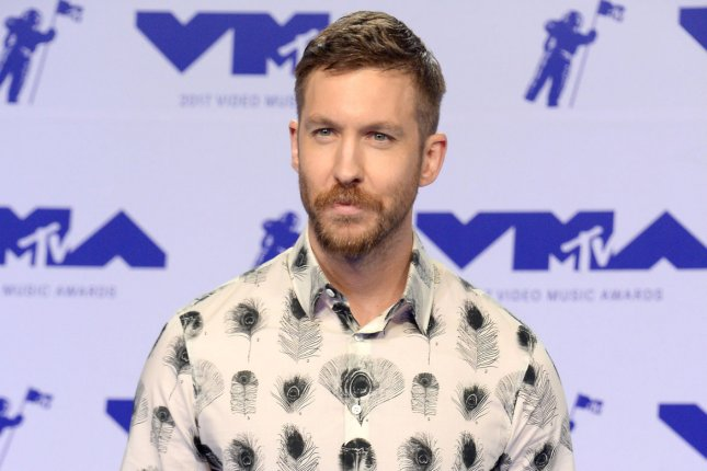 Calvin Harris said he sprouted facial hair in hopes of a win at the 2018 Grammy Awards. File Photo by Jim Ruymen/UPI