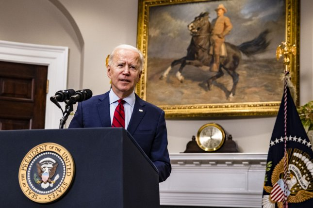 President Joe Biden faces a host of contradictions in dealing with Iran and Saudi Arabia. Pool Photo by Samuel Corum/UPI