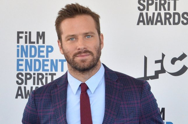 Armie Hammer discussed rumors that he is up fro the role of Batman and potential sequel to Call Me By Your Name on The Tonight Show. File Photo by Jim Ruymen/UPI