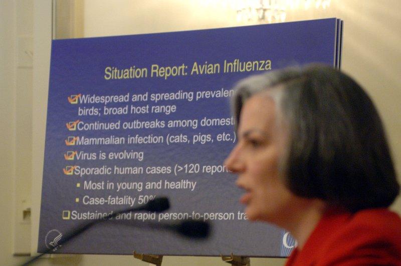 FDA approval of avian flu vaccine moves pandemic preparedness forward. (UPI Photo/Roger L. Wollenberg)