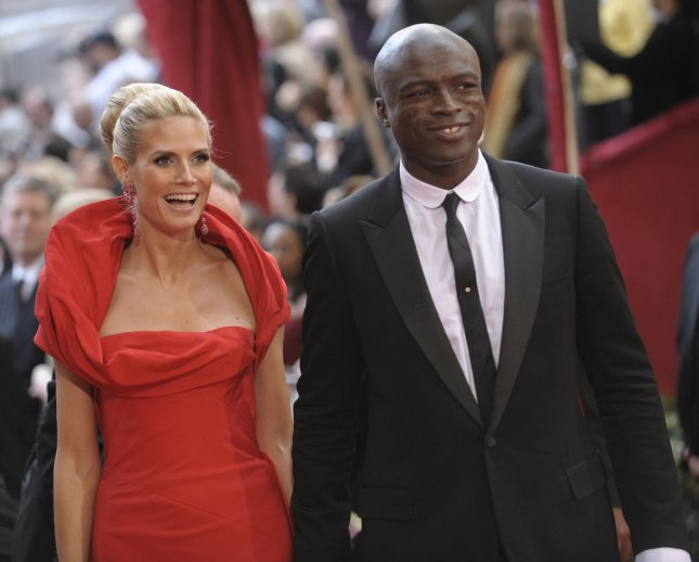 Heidi Klum (L) and Seal arrive for the 80th Annual Academy Awards at the Kodak Theatre in Hollywood, California on February 24, 2008. (UPI Photo/Phil McCarten)
