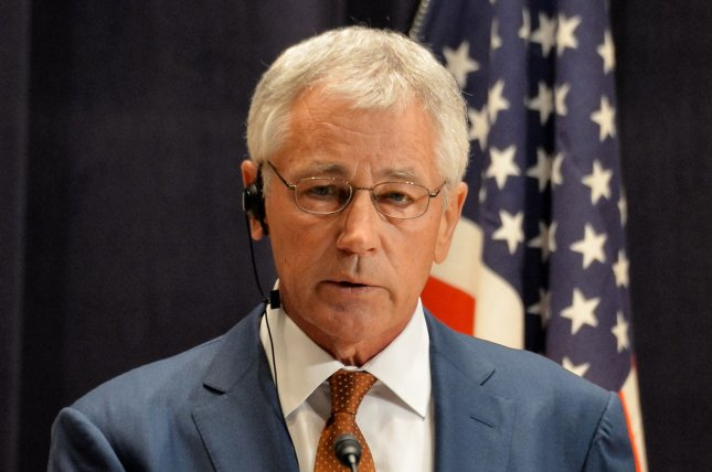 U.S. Secretary of Defense Chuck Hagel, pictured on April 6, 2014. (UPI/Keizo Mori)