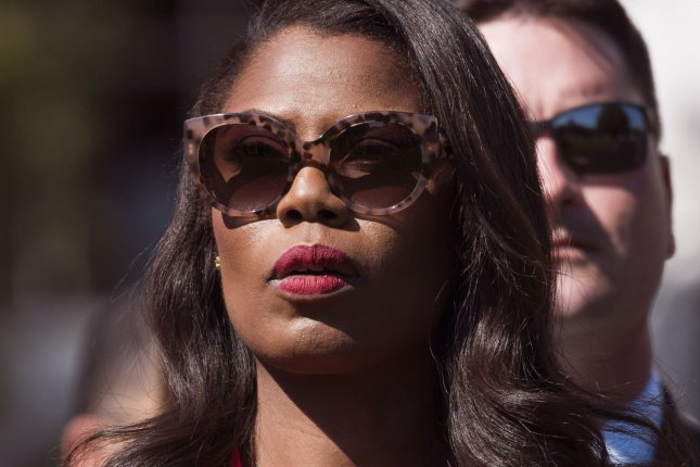 Donald Trump's presidential campaign filed for arbitration against former Trump aide Omarosa Manigault Newman for statements made in her newly-released book, which covers her time working for Trump's campaign and in the White House. File Photo by Kevin Dietsch/UPI