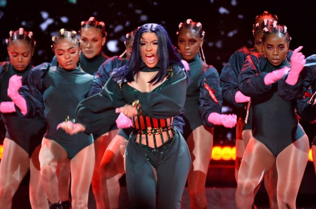 Rapper Cardi B's new hip-hop competition show, Rhythm + Flow,  is set to debut on Netflix on Oct. 9. File Photo by Jim Ruymen/UPI