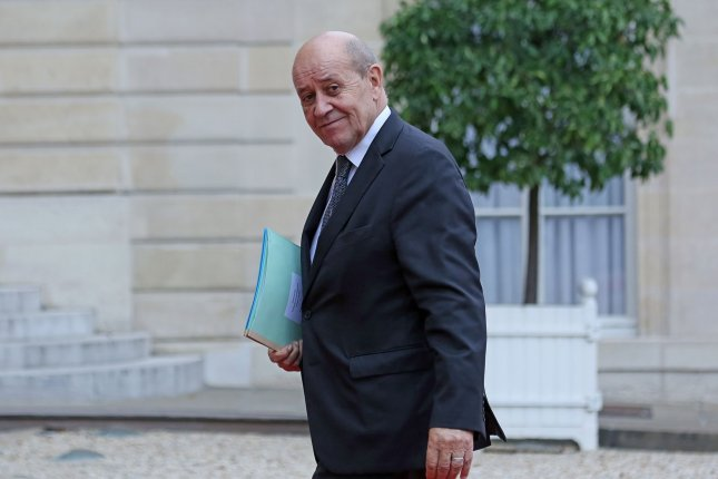 Six men who impersonated French Foreign Minister Jean-Yves Le Drian to convince wealthy individuals to pay them more than $70 million were sentenced to up to 11 years in prison on Wednesday. Photo by David Silpa/UPI