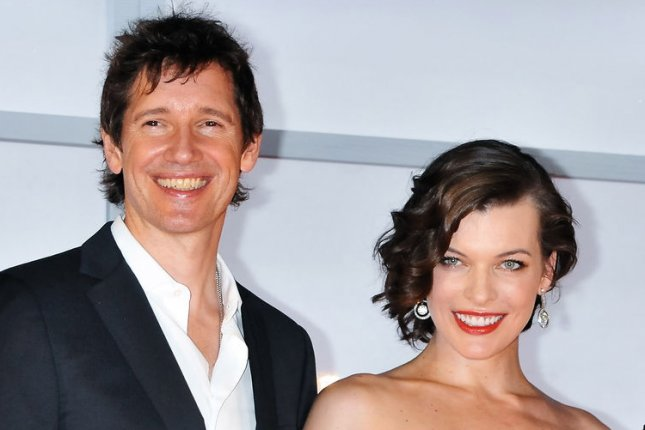 (L-R)Director Paul W. S. Anderson, actress Milla Jovovich and Singer Mika Nakashima attend the world premiere for the film Resident Evil: Retribution in Tokyo, Japan, on September 3, 2012. The film will open on September 14 in Japan. UPI/Keizo Mori