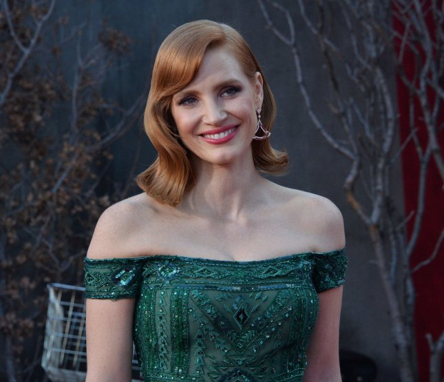 Jessica Chastain is set to play Tammy Wynette in a new TV limited series. File Photo by Jim Ruymen/UPI