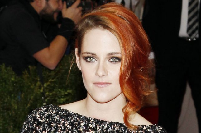 Kristen Stewart arrives on the red carpet at the Costume Institute Benefit celebrating the opening of Charles James: Beyond Fashion and the new Anna Wintour Costume Center at the Metropolitan Museum of Art in New York City on May 5, 2014. UPI/John Angelillo