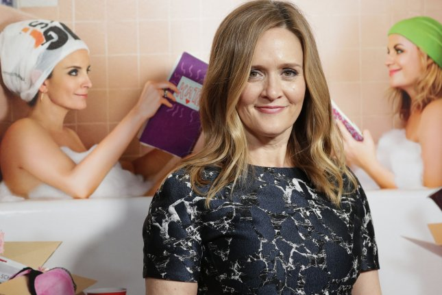 The Detour co-creator Samantha Bee arrives on the red carpet at the premiere of Sisters in New York City on December 8, 2015. File photo by John Angelillo/UPI