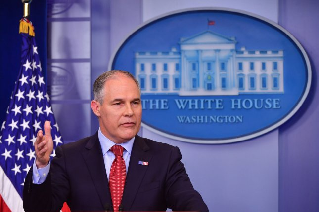 The House Oversight and Government Reform Committee is expanding an investigation into alleged ethical and spending abuses by Environmental Protection Agency Administrator Scott Pruitt. Photo by Kevin Dietsch/UPI