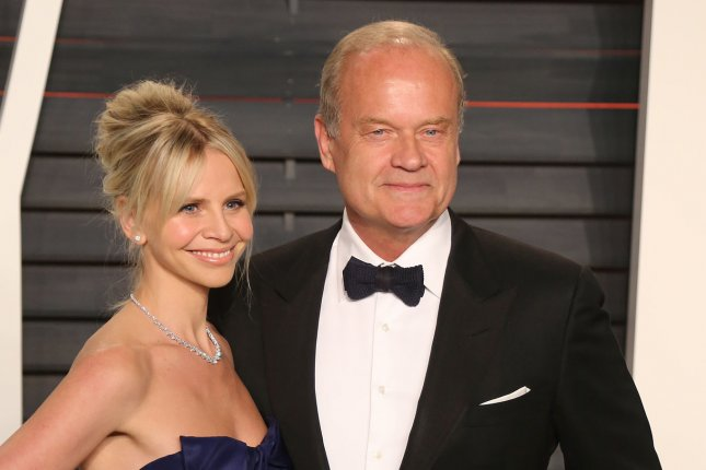 Kelsey Grammer (R) with Kayte Walsh. The actor is reportedly in the early stages of developing a reboot to Frasier. File Photo by David Silpa/UPI