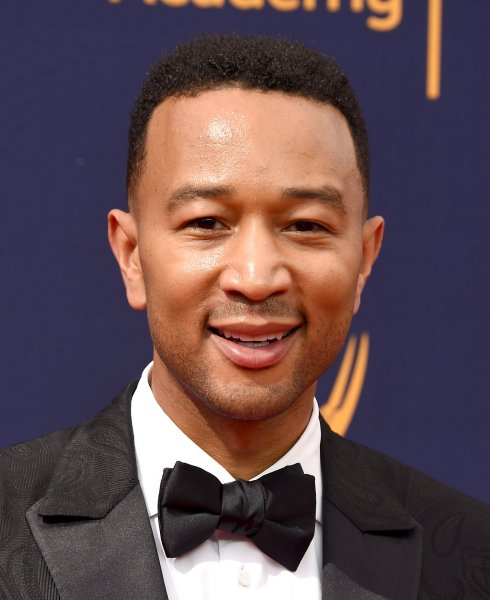 Singer John Legend attended the Creative Arts Emmy Awards in Los Angeles on Sunday. Legend is to be one of the coaches on The Voice next spring. Photo by Gregg DeGuire/UPI