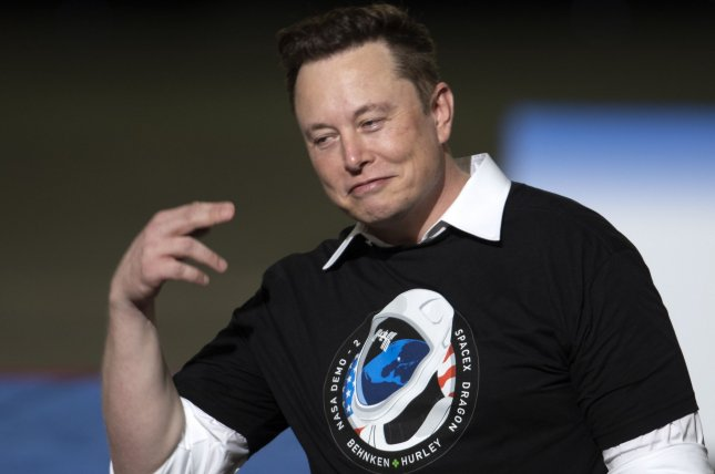 SpaceX CEO Elon Musk is set to host SNL on May 8. File Photo by Joe Marino/UPI