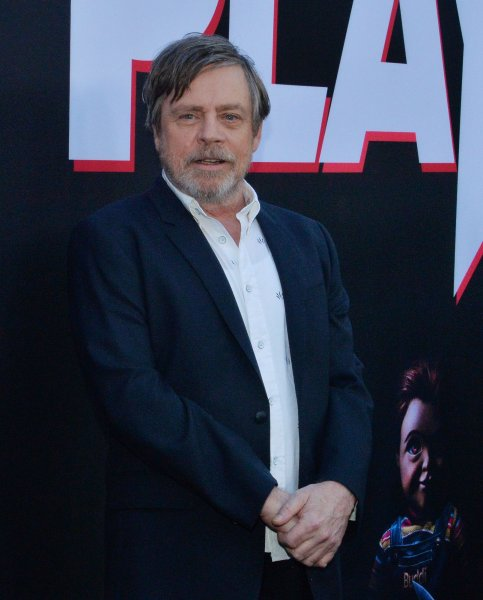 Mark Hamill attends the premiere of Child's Play at the ArcLight Cinerama Dome in the Hollywood section of Los Angeles on June 19, 2019. The actor turns 70 on September 25. File Photo by Jim Ruymen/UPI