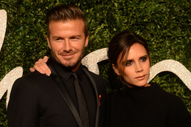 David Beckham (L) says he takes wife Victoria Beckham's fashion advice. File photo by Rune Hellestad/UPI