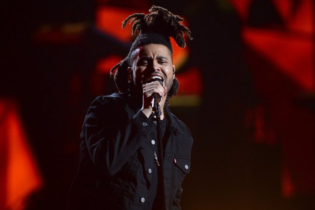 The Weeknd performs onstage during the 15th annual BET Awards at Microsoft Theater in Los Angeles on June 28, 2015. File Photo by Jim Ruymen/UPI