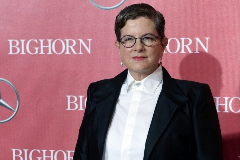 Carol screenwriter Phyllis Nagy attends the 27th annual Palm Springs International Film Festival awards gala on January 2, 2016. Photo by Jim Ruymen/UPI