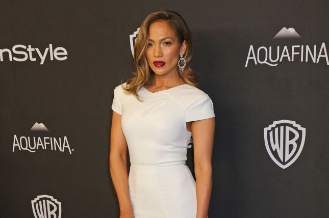 Jennifer Lopez attends the 17th annual InStyle and Warner Bros. Golden Globe after-party in Beverly Hills on January 10, 2016. Photo by David Silpa/UPI
