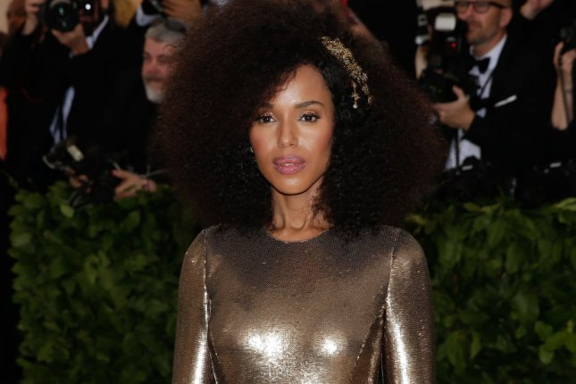 Kerry Washington is set to star in Broadway's American Son this fall. File Photo by John Angelillo/UPI