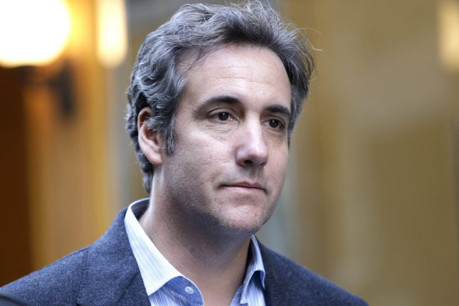 President Donald Trump's former personal lawyer Michael Cohen recorded a conversation the two had about paying for the exclusive rights to a story from a former Playboy model who said she had an affair with Trump. File Photo by John Angelillo/UPI