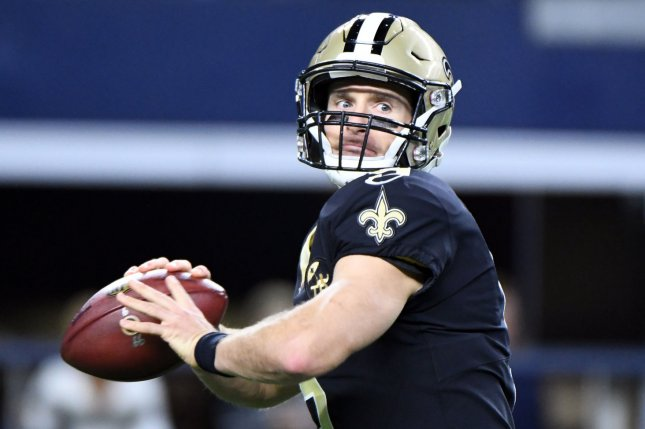 New Orleans Saints quarterback Drew Brees drops back to pass during a game  against the Dallas Cowboys at AT T Stadium in Arlington db46cf588
