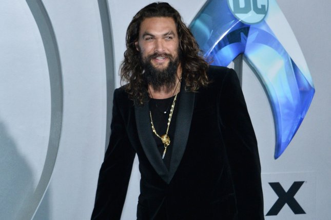 Cast member Jason Momoa attends the premiere of Aquaman in Los Angeles on December 12. The film is No. 1 at the North American box office this weekend. Photo by Jim Ruymen/UPI