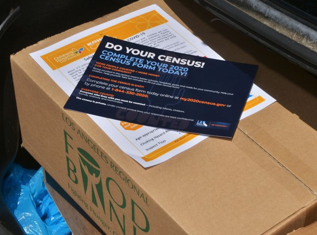 The Census Bureau announced in August that it would end the census on Sept. 30. File Photo by Jim Ruymen/UPI