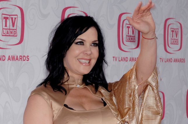 Joanie Chyna Laurer arrives for the 5th annual TV Land Awards on April 14, 2007. Chyna's final interviews before her death are featured in the first trailer for upcoming documentary, Wrestling with Chyna. File Photo by Jim Ruymen/UPI