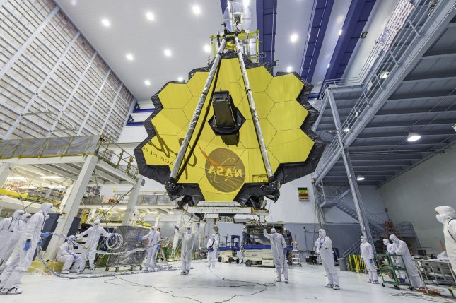NASA has announced another delay in the target launch date for the James Webb Space Telescope. NASA Photo by Desiree Stover/UPI