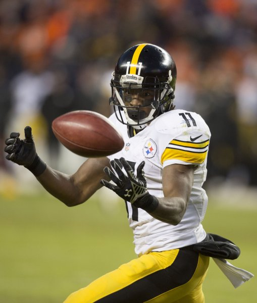 Former Pittsburgh Steelers receiver Markus Wheaton has signed with the Philadelphia Eagles. Photo by Gary C. Caskey/UPI