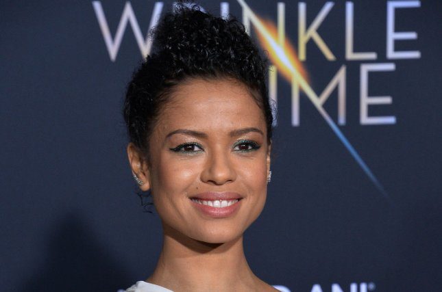 Gugu Mbatha-Raw is set to star in Come Away along with Michael Caine. The fantasy drama also stars David Oyelowow and Angelina Jolie. File Photo by Jim Ruymen/UPI
