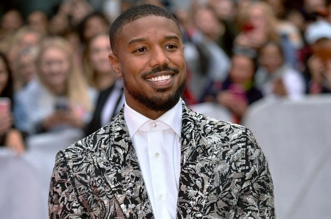 Michael B. Jordan talked about being named the Sexiest Man Alive on The Tonight Show Starring Jimmy Fallon. File Photo by Chris Chew/UPI