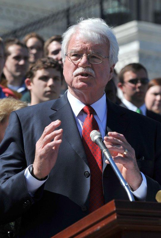 U.S. Rep. George Miller, D-Calif., in a 2010 file photo. UPI/Kevin Dietsch