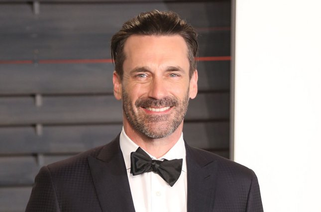 Jon Hamm at the Vanity Fair Oscar party on February 28, 2016. File Photo by David Silpa/UPI