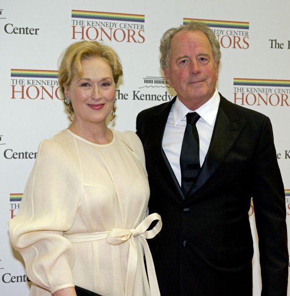 Meryl Streep and Don Gummer arrive for the formal Artist's Dinner honoring the recipients of the 2012 Kennedy Center Honors hosted by United States Secretary of State Hillary Rodham Clinton at the U.S. Department of State in Washington, D.C. on December 1, 2012. The 2012 honorees are Buddy Guy, actor Dustin Hoffman, late-night host David Letterman, dancer Natalia Makarova, and the British rock band Led Zeppelin (Robert Plant, Jimmy Page, and John Paul Jones). UPI/Ron Sachs/Pool