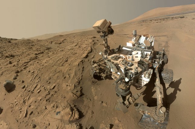 NASA's Curiosity Mars rover seen on the Red Planet. (File/UPI/NASA)