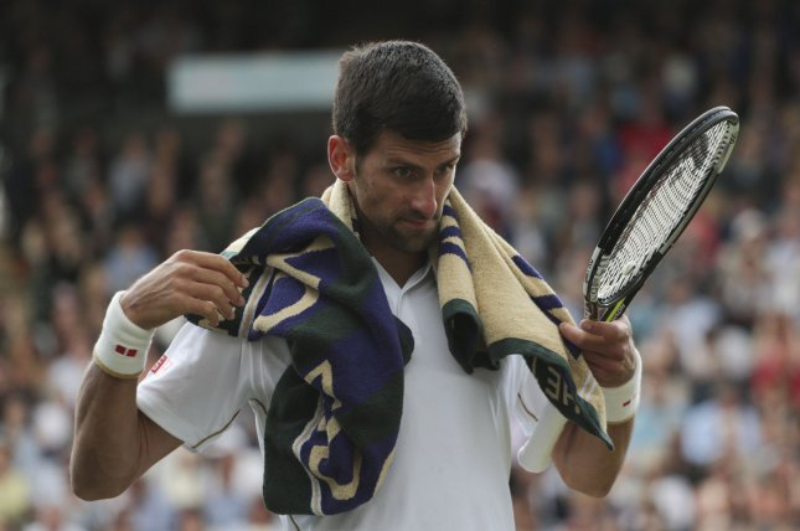 Serbian Novak Djokovic. Photo by Hugo Philpott/UPI