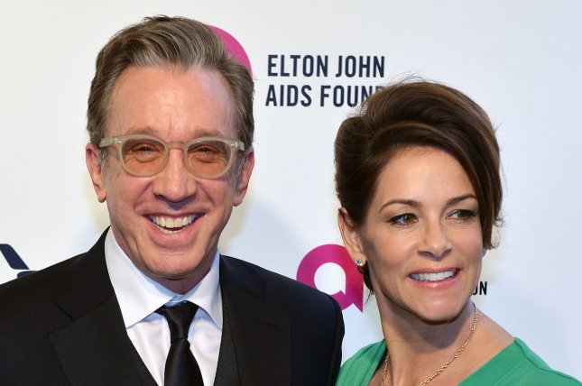 Last Man Standing and Toy Story star Tim Allen and his wife Jane Hajduk arrive at the Elton John Aids Foundation's 24th annual Academy Awards viewing party in West Hollywood on February 28, 2016. File Photo by Christine Chew/UPI