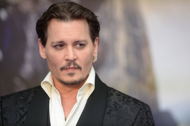 Pirates of the Caribbean star Johnny Depp attending the premiere of Alice Through The Looking Glass on May 10. Depp appears as Jack Sparrow once again in Pirates of the Caribbean: Dead Men Tell No Tales alongside Javier Bardem and returning star Orlando Bloom. File Photo by Rune Hellestad/UPI