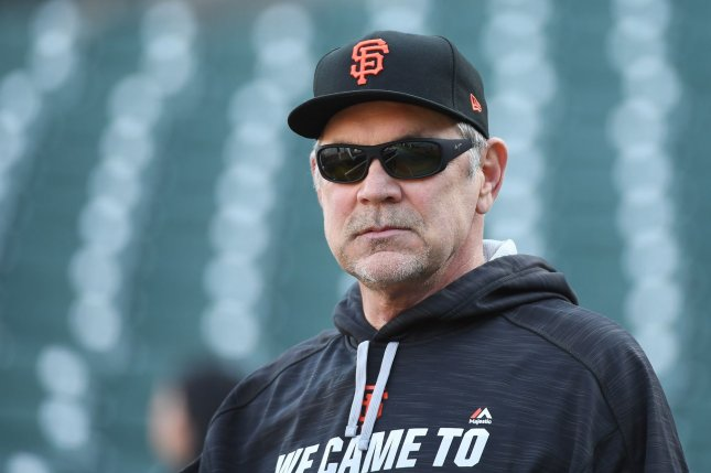 San Francisco Giants manager Bruce Bochy. File photo by Terry Schmitt/UPI