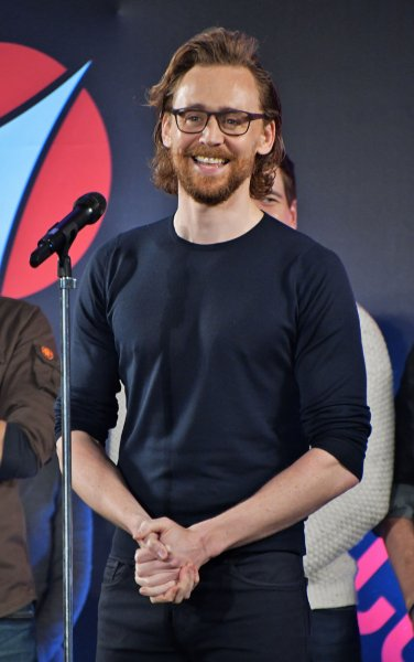 Tom Hiddleston attends the Tokyo Comic Con in Chiba prefecture, Japan, on November 30, 2018. The actor turns 40 on February 9. File Photo by Keizo Mori/UPI