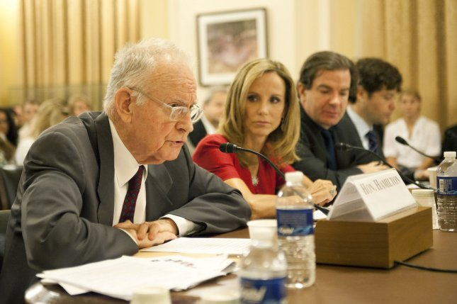 Left to right, Former Rep. Lee Hamilton, D-Ind., of the Bipartisan Policy Center and former co-chairman of the 9/11 Commission, Frances Townsend, former counterterrorism adviser to President George W. Bush, Peter Bergen, New America Foundation scholar, and Evan Kohlmann, Flashpoint Partners founder, testify during a House Homeland Security Committee hearing titled Threats to the American Homeland after Killing Bin Laden: An Assessment on Capitol Hill in Washington on May 25, 2011. UPI/Kevin Dietsch