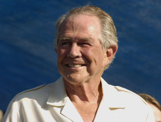 Dr. Pat Robertson, Founder of the Christian Broadcasting Network and host of the 700 Club. (File/UPI Photo/Debbie Hill)