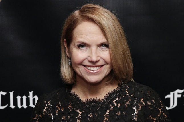 Katie Couric has been selected to guest host Jeopardy! along with Mayim Bialik and Bill Whitaker. File Photo by John Angelillo/UPI