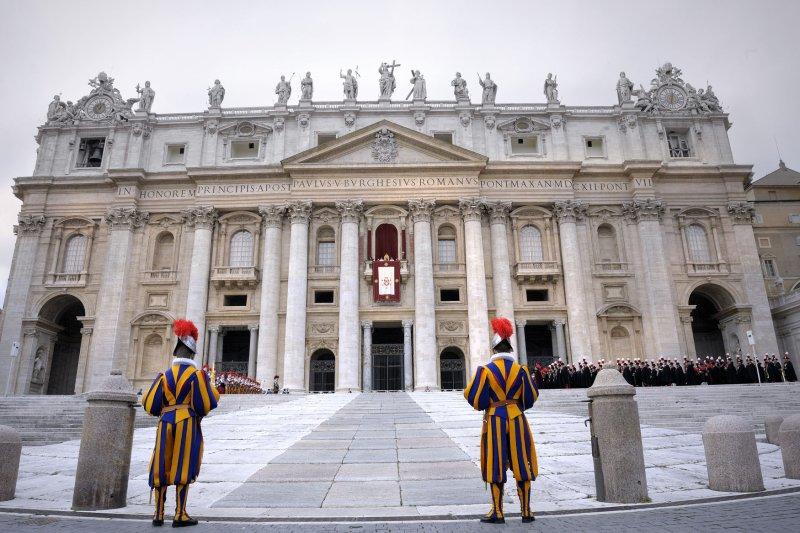 St. Peter's Basilica in Vatican City. UPI/Stefano Spaziani