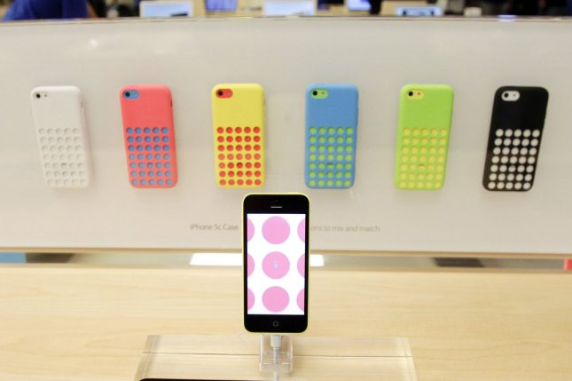 The iPhone 5C was Apple's first mid-range phone and the device didn't do as well as expected, possibly forcing the company to remain focused on the premium smartphone market. UPI/John Angelillo