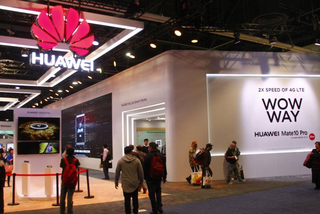 Smartphones made by Chinese manufacturers Huawei and ZTE were banned from U.S. military installations worldwide on Wednesday, due to what officials consider a heightened security risk. File Photo by James Atoa/UPI