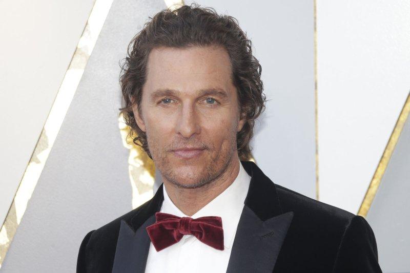 Matthew McConaughey File Photo by John Angelillo/UPI